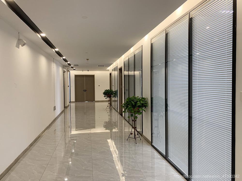 南大通用办公环境,天津,楼道2